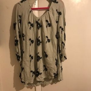 Free People Tunic Mini Dress